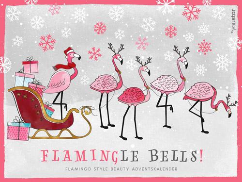 Youstar Pink Flamingo X-Mas Adventskalender 2019