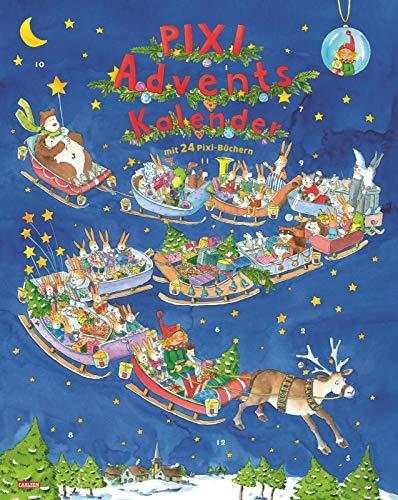 Pixi Adventskalender 2021: Mit 22 Pixi-Büchern und 2 Maxi-Pixi variant