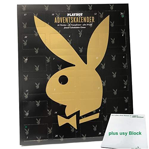 Playboy Adventskalender mit feinster Schokolade + Playboy 11/2020, usy Block
