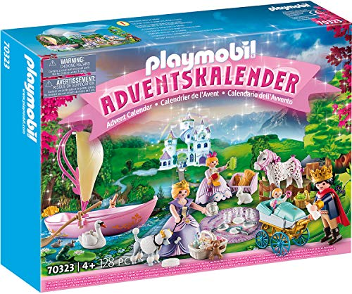 PLAYMOBIL 70323 Adventskalender Königliches Picknick im Park, Ab 4 Jahren