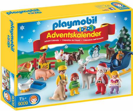 Playmobil Adventskalender 1.2.3 auf dem Bauernhof