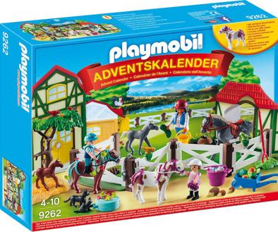 Playmobil Adventskalender 9262 Reiterhof 2017