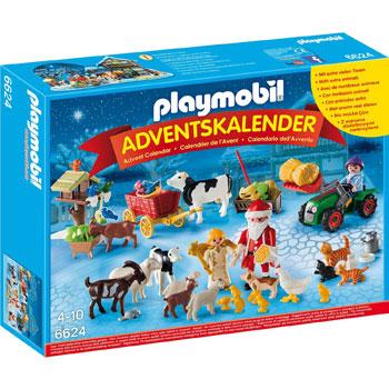 Playmobil Adventskalender Weihnacht auf dem Bauernhof 2015