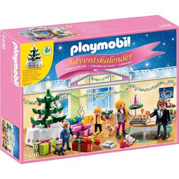 Weihnachtsabend Mit Beleuchtetem Baum Playmobil Adventskalender 2014