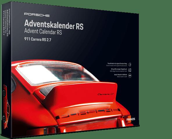 Porsche Carrera 911 RS 2.7 Adventskalender