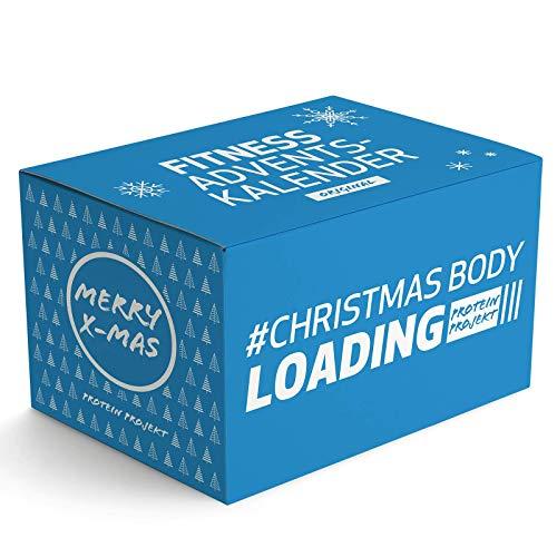 Protein Projekt Original Fitness-Adventskalender - 24 sportliche und fitte Überraschungen verschiedener Marken & Kategorien