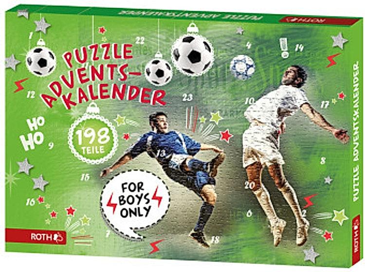 "Puzzle-Adventskalender ""For Boys"""