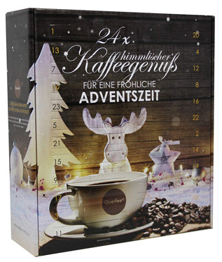 Querfee Kaffee Adventskalender 2018
