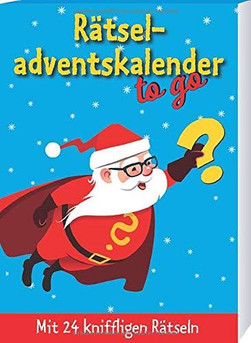 Rätseladventskalender to go 3: Mit 24 kniffligen Rätseln: Mit 24 kniffligen Rtseln (Adventskalender für Erwachsene - 24 Rätsel)