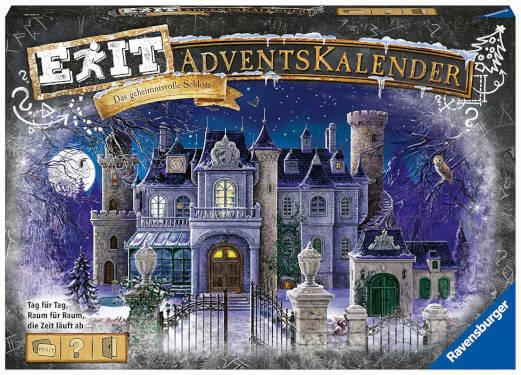Ravensburger EXIT Adventskalender Das geheimnisvolle Schloss