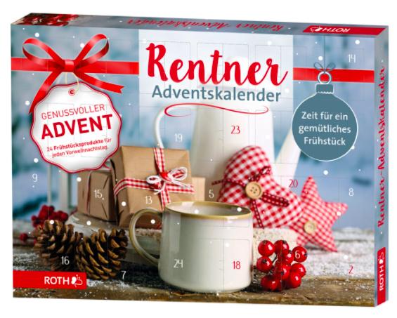 Rentner-Adventskalender zum Frühstück