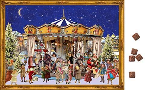 Richard sellmer Schokoladen-Adventskalender Das Weihnachtskarussell
