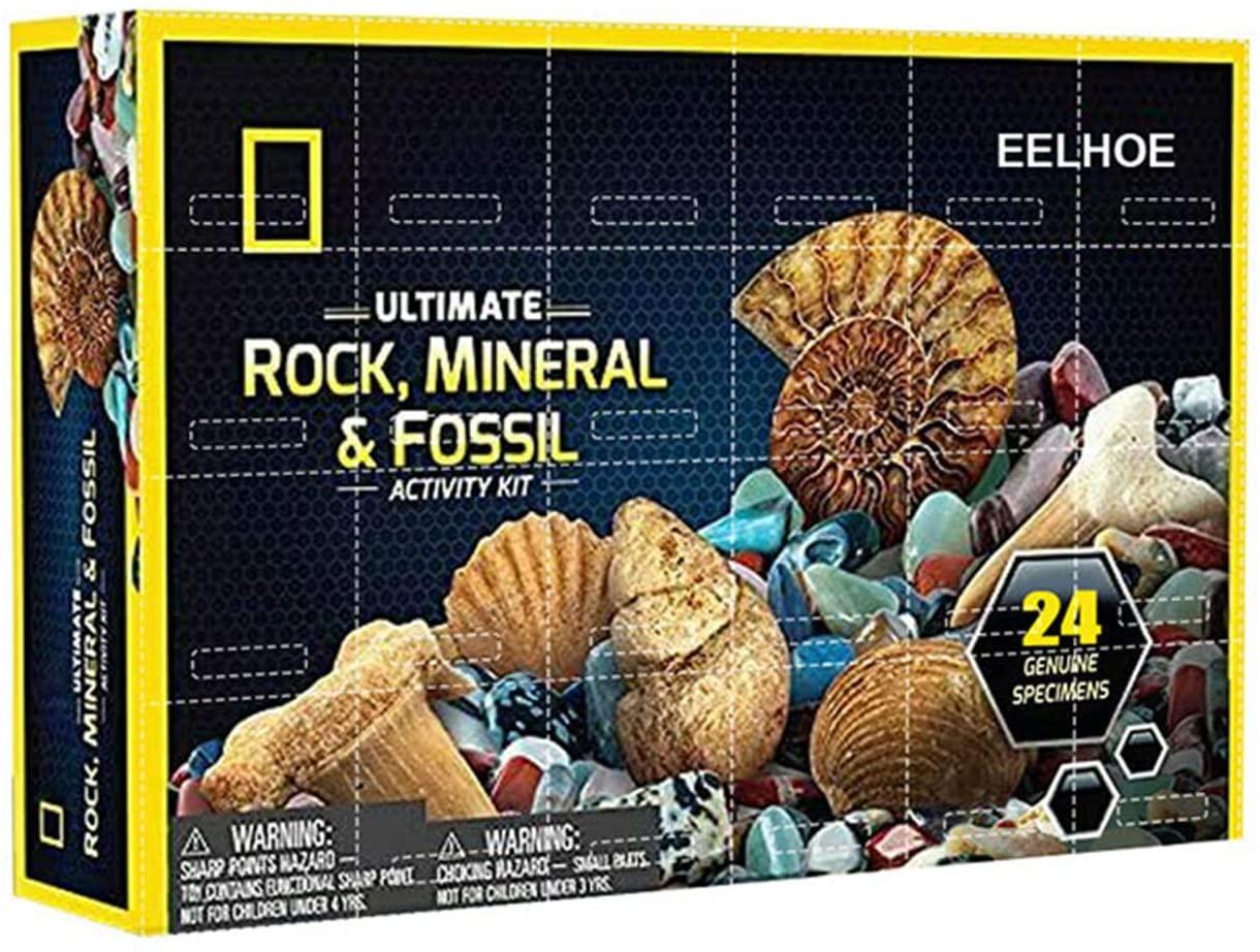 Ultimate Rock, Mineral & Fossil Advent Calendar