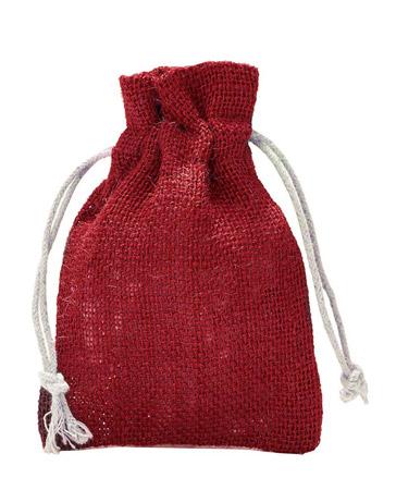 Jutesäckchen Rot