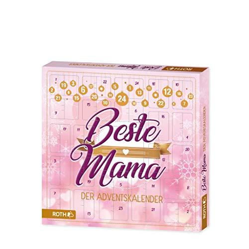 """ROTH Adventskalender""""Beste Mama"""" gefüllt mit Entspannungsartikeln für Mütter, Frauen-Kalender für die Vorweihnachtszeit"""