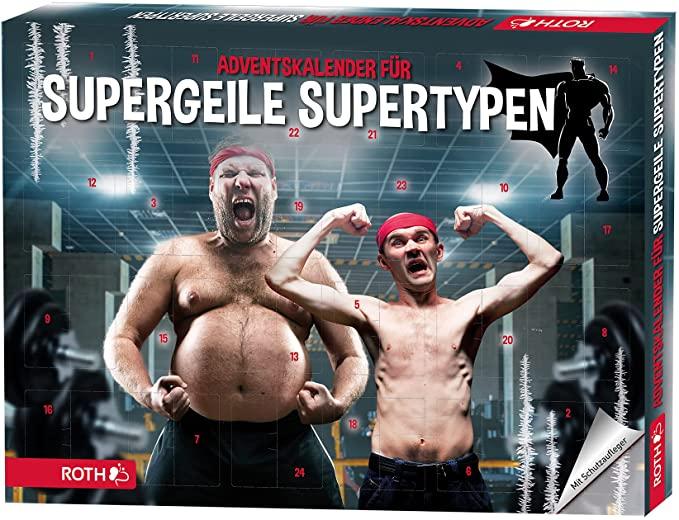 ROTH Adventskalender für supergeile Supertypen 2021