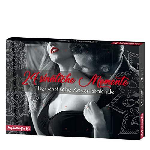 ROTH Erotik-Adventskalender '24 sinnliche Momente' gefüllt mit 24 Überraschungen für Paare, 50x35x4 cm