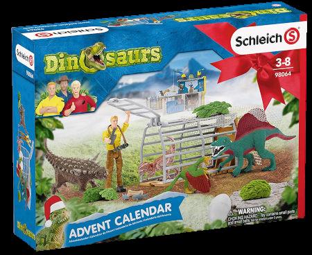 Schleich Adventskalender Dinosaurier 2020