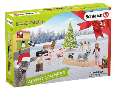 Schleich Adventskalender Farm World 2019