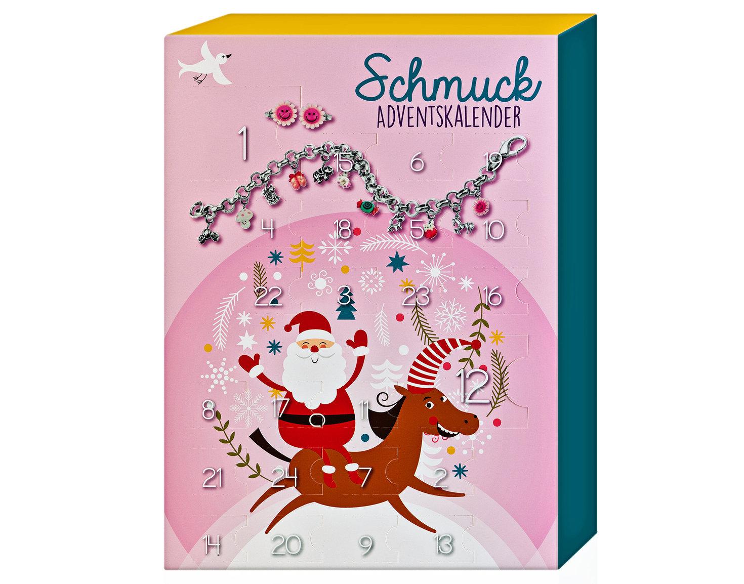 Schmuck Adventskalender für Kinder