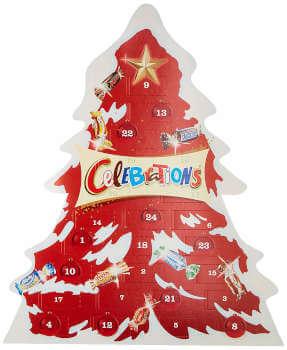 Schokolade Celebrations Adventskalender