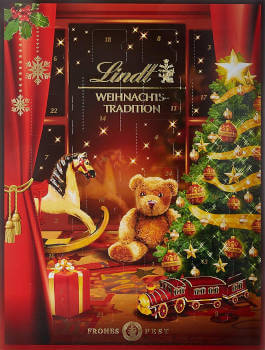 Schokolade Lindt Weihnachtstradition Adventskalender 2019