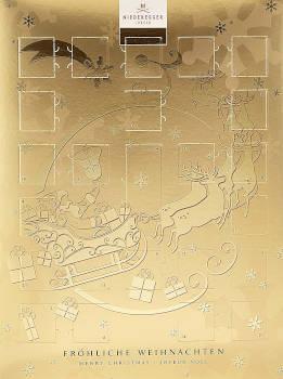 Schokolade Niederegger Adventskalender Nougat