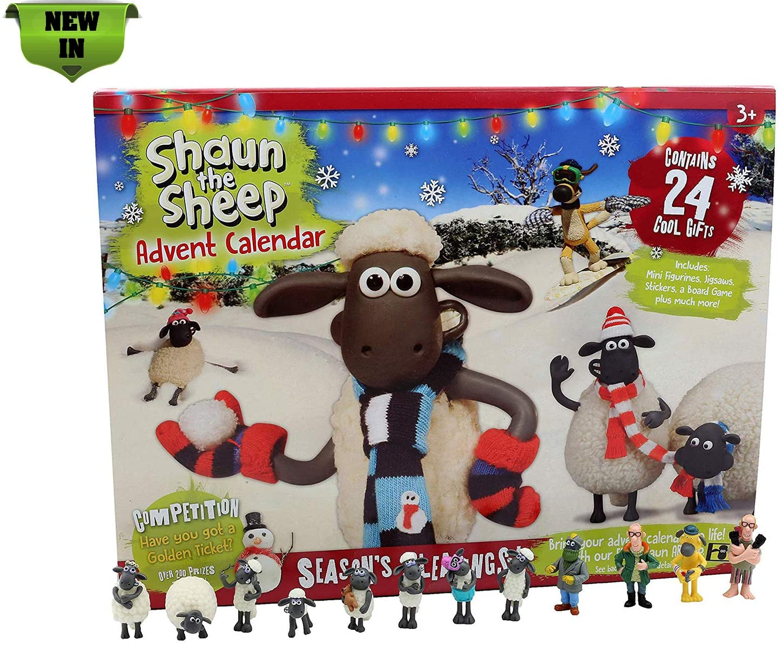 Shaun the Sheep Advent Calendar 2018