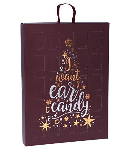 SIX Damen Adventskalender Ear Candy mit 24 raffinierten Schmuckstücken (388-353)