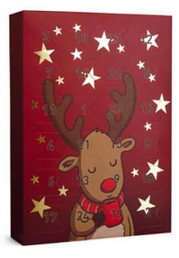 Six Rentier Weihnachten Adventskalender
