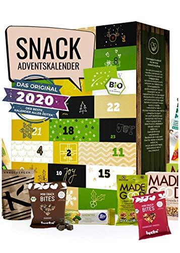 Snack Adventskalender 2020 Adventskalender zum Snacken I für den kleinen Hunger zwischendurch I köstliche Snacks für die Adventszeit I Leckerein Weihnachten I genussvoll durch die Adventszeit
