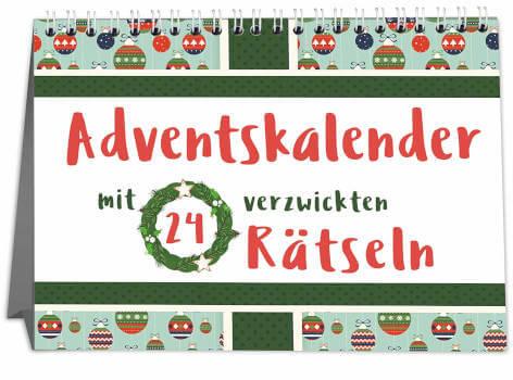 Sophies Kartenwelt Adventskalender mit 24 kniffligen Rätseln