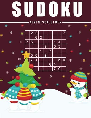 Sudoku Adventskalender für Senioren: 72 Großdruck Sudokus für Senioren mit Lösungen