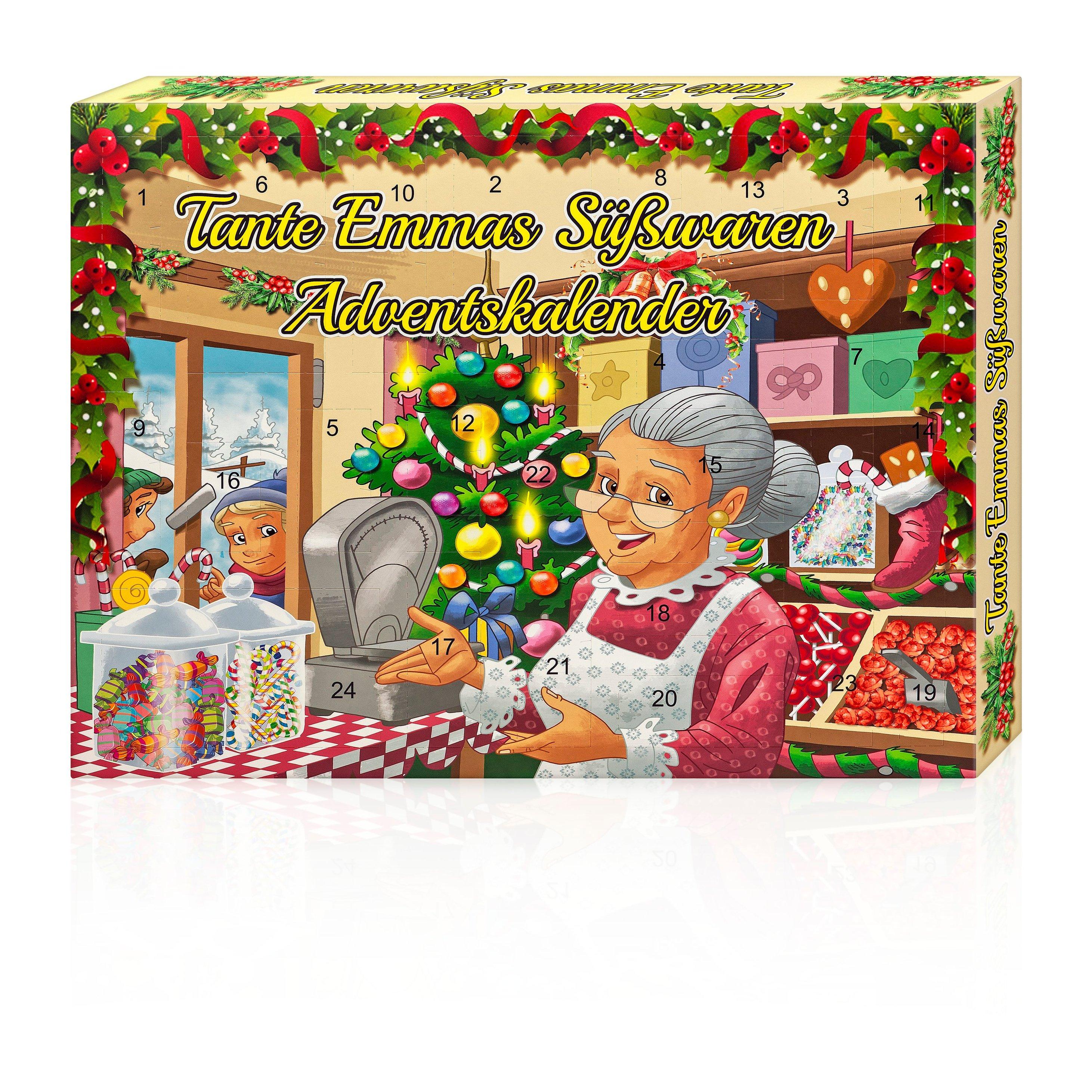 Tante Emmas Süßwaren Adventskalender
