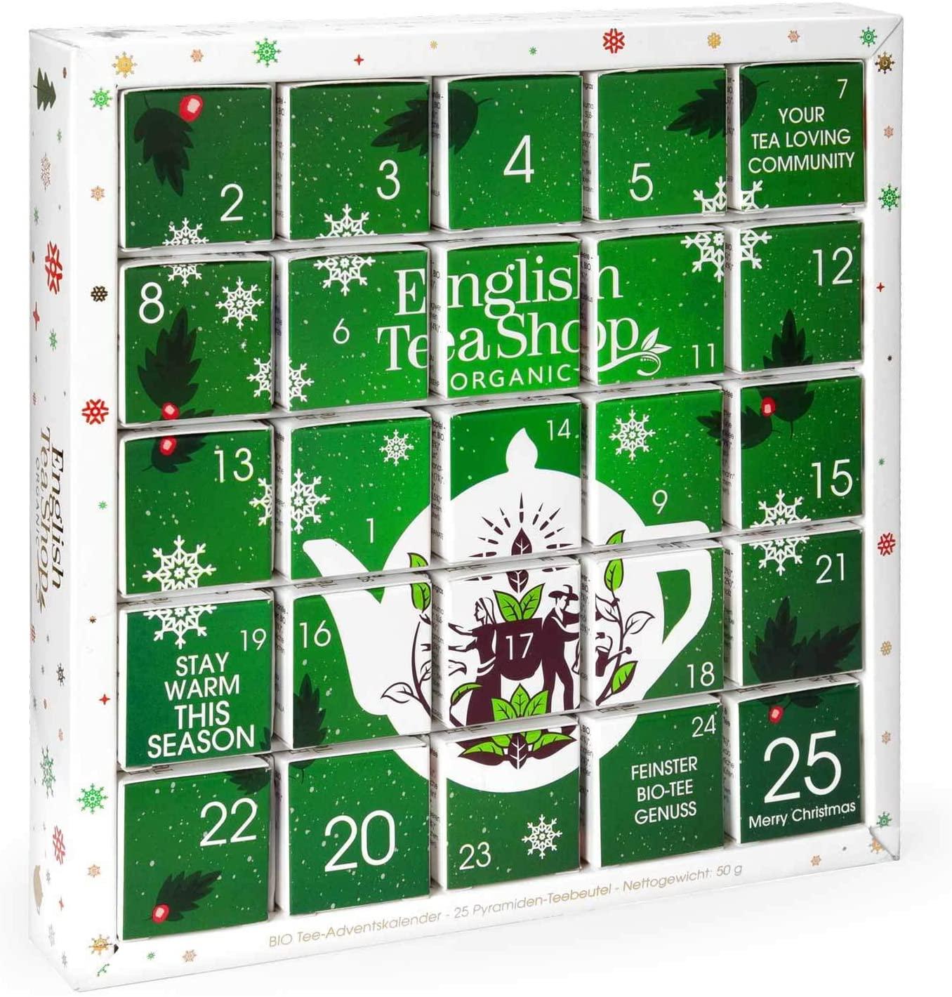 Organic Green Advent Calendar Puzzle
