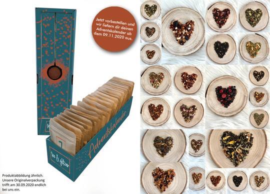 Tee Adventskalender & Tastingboxen