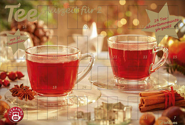 Tee für Zwei Adventskalender 2018
