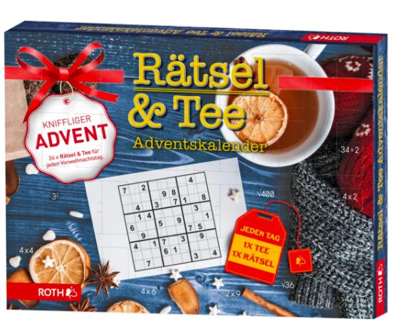 Rätsel & Bio; Tee-Adventskalender