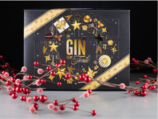 The Gin To My Tonic Advent Calendar 2021