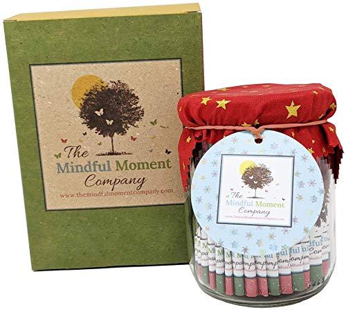 The Mindful Moment Company Adventskalender der Achtsamkeit - 24 Achtsamkeitsübungen im Glas um die Vorweihnachtszeit voll zu genießen!