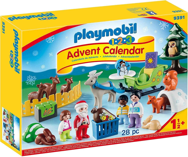 Playmobil 1.2.3 Advent Calendar 2018