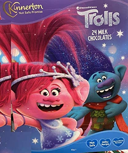 Trolls Chocolate Advent Calendar 2020