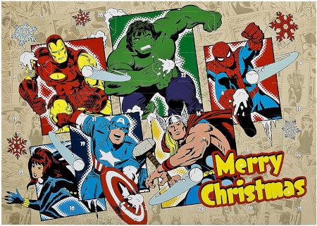 Undercover Marvel Avengers Adventskalender für Kinder