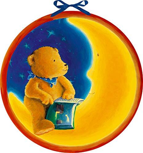 Wandkalender - Der Mondbär im Weihnachtshimmel