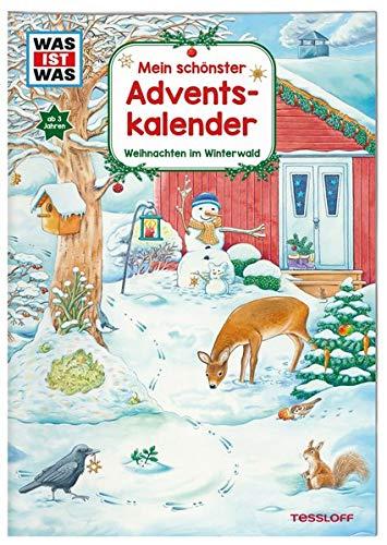 WAS IST WAS Mein schönster Adventskalender: Weihnachten im Winterwald