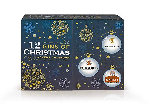 Whitley Neill 12 Gins of Christmas Adventskalender (12 x 5cl)