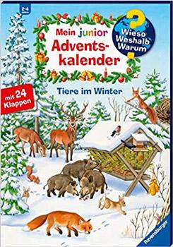 Wieso Weshalb Warum Junior Tiere im Winter Adventskalender