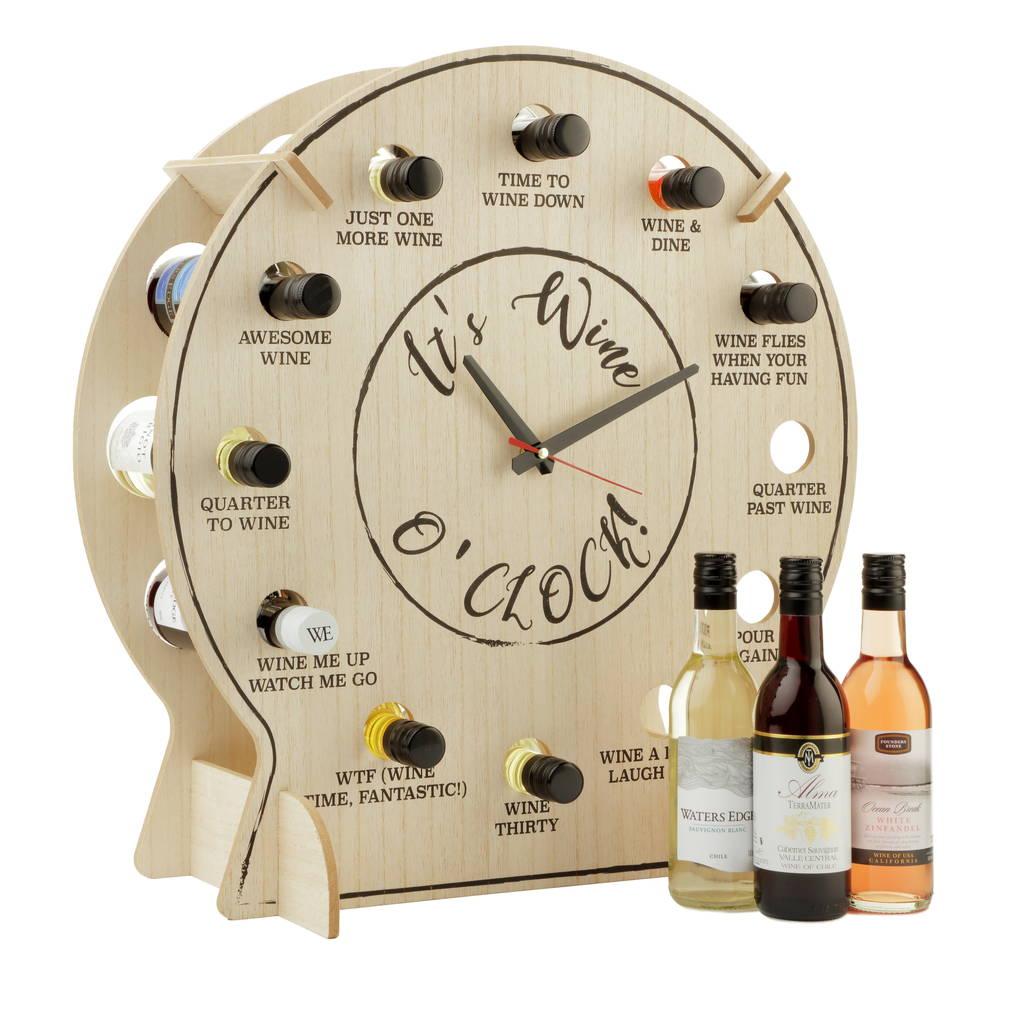 Refillable Wine O Clock Countdown Clock