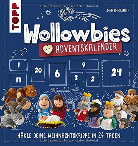 Wollowbies Adventskalender: Häkle deine Weihnachtskrippe in 24 Tagen