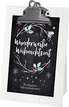 Wunderweiße Weihnachtszeit Adventskkalender 2018